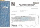 638 Actiuni -North European Oil Royalty Trust -seria NEC 2690