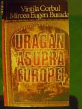 URAGAN  ASUPRA  EUROPEI