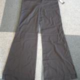 Pantaloni negri nr.36 catifea - Pantaloni dama