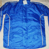 Geaca de fotbal olympic - Geaca barbati, Marime: XXS, S, Culoare: Albastru, S, Albastru