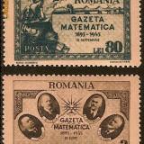 Romania 1945 - LP 180 - Gazeta Matematica - Timbre Romania