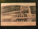 TURNU SEVERIN - RUINELE PODULUI TRAIAN LA 1907