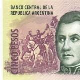 ARGENTINA █ bancnota █ 5 Pesos █ 2003- █ P-353 █ UNC █ necirculata