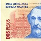 ARGENTINA █ bancnota █ 2 Pesos █ 2003- █ P-352 █ UNC █ necirculata