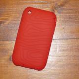 HUSA SILICON iPHONE 3GS 3G - FOARTE REZISTENTA - RED - Husa Telefon Apple, iPhone 3G/3GS