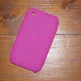 HUSA SILICON iPHONE 3GS 3G - FOARTE REZISTENTA - HOT PINK - Husa Telefon Apple, iPhone 3G/3GS