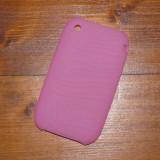 HUSA SILICON iPHONE 3GS 3G - FOARTE REZISTENTA - LITE PINK - Husa Telefon Apple, iPhone 3G/3GS