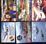 Set 6 calendare de buzunar, Avioane Aerostar