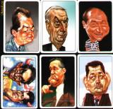 Set 6 calendare de buzunar, politicieni romani,2008