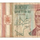 LL bancnota Romania 1000 lei 1993 - Bancnota romaneasca