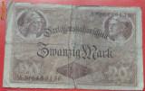 20 marci Germania 1914 deosebit de RARA cota de catalog 30 $ - VG PRET REDUS