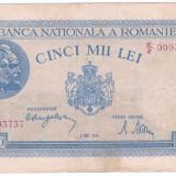 Bancnota 5000 Lei 2 mai 1944 (1) - Bancnota romaneasca