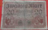 20 marci Germania 1918 RARA cota de catalog 10 $
