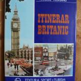 ITINERAR BRITANIC - NICOLAE PLOPEANU - Carte de calatorie