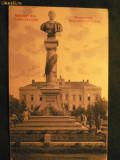 TURNU SEVERIN - STATUIA IMPARATULUI TRAIAN - ANUL 1907