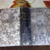 Schiller - Opere - 1830 - volumul 1- in germana, caractere gotice - Carte veche
