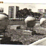 Bnk cp constanta - bd republicii - circulata 1966 - Carti Postale Romania dupa 1918