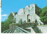 CP184-14 Tirgu Neamt: Cetatea Neamtului -circulata 1989