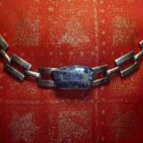 Bratara din argint cu lapislazuli