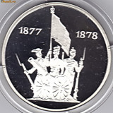 100 lei 1998, BNR, Aniversarea Independentei, argint 27 grame - Moneda Romania