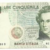 ITALIA  5.000 Lire 1985  !!!