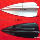 Antena bmw argintie sau neagra aripa rechin autoadeziva