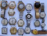 18 ceasuri vechi de mina defecte - de colectie, Sport, Timex