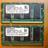 Vand memorie ddr 1 de 256 mb ddr333 pc2700 SIEMENS - Memorie RAM, 333 mhz