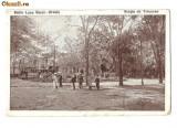 CP191-97 Baile Lacu Sarat -Braila-Statia de Tramvae -carte postala circulata 1925