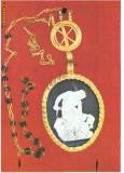 CP194-09  Colier din aur cu camee -Drobeta-Turnu Severin -Bucuresti -Muzeul National de Istorie -carte postala necirculata