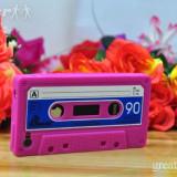 iPHONE 4 4G - CEA MAI TARE HUSA - CASSETTE SERIES [PINK]