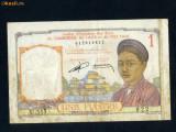 Indochina franceza 1 piastru 1953
