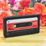 IPHONE 4 4G - CEA MAI TARE HUSA - CASSETTE SERIES [BLACK][1] - Husa Telefon Apple, iPhone 4/4S