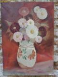 Cumpara ieftin Vaza cu flori - 5 , pictura in ulei pe panza