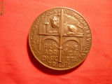 Placheta - Italia - Conferinta Adriatica de la Trieste 1938