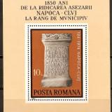 Romania 1974 - LP 843 - 1850 Ani Cluj-Napoca Municipiu - Colita Neuzata