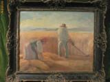 GYERGYOI  BRASSAY - PICTOR MAGHIAR - ULEI PE PANZA LIPITA PE CARTON, Peisaje, Impresionism