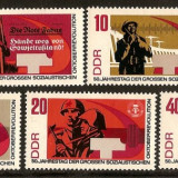 Germania DDR 1967 - 50 De Ani Revolutia Rusa Din Octombrie - Neuzate