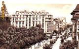 Ok-0775- Romania, Bucuresti, c.p.necir. 1936: Bulev. Elisabeta, tramvaie, animat