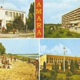S13020 Amara Complexul sanatorial Strandul Tineretului Oficiul PTTR circulata