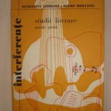 INTERFERENTE STUDII LITERARE POEZII PROZA 1979