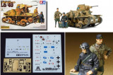 + Macheta 1/35 Tamiya 89783 - L6/60 Italian light tank +