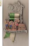 CIA 143 Medalie heraldica(caruta cu butoaie -legat de culesul viei, sau al hameiului, pentru bere) - interesanta -(germana)