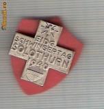 CIA 203 Medalie  Schwing SOLOTHURN 1940 (lupte -Wrestling )(Elvetia) -dimensiuni, circa 25X25 milimetri