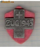 CIA 200 Medalie  Schwingertag ZUG 1943 (lupte -Wrestling )(Elvetia) -dimensiuni, circa 25X25 milimetri