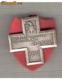 CIA 192 Medalie  Schwingertag Basel 1939 (lupte -Wrestling )(Elvetia) -dimensiuni, circa 26X26 milimetri
