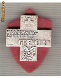 CIA 188 Medalie  Schwing Grenchen 1950 (lupte -Wrestling )(Elvetia) -dimensiuni, circa 25X25 milimetri