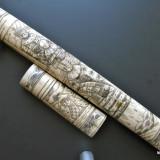 Tanto fildes - japonez autentic sec. XIX