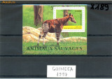 ST-04=GUINEEA 1997 Animale Bloc nestampilat