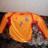 Tricou Romania(echipa nationala) original - Tricou barbati Adams, L, Maneca scurta, Bronz